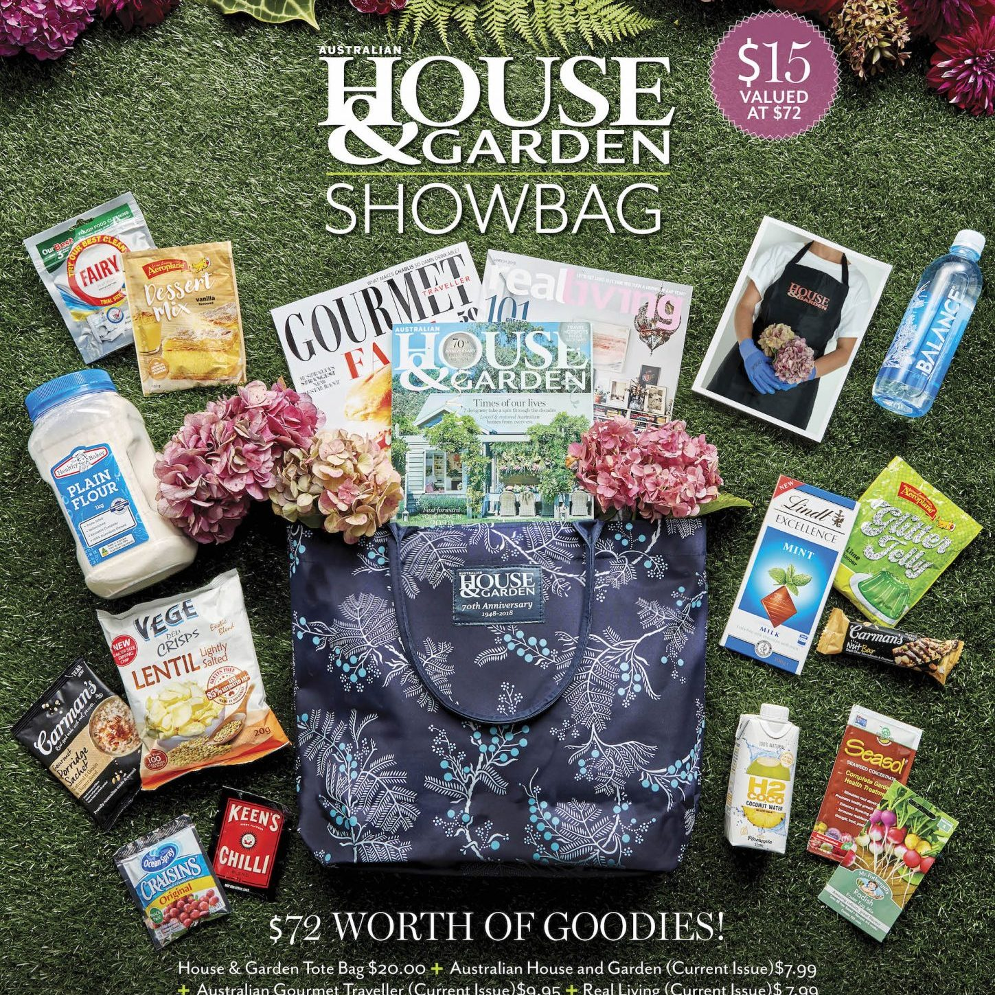 House and Garden Showbag offering